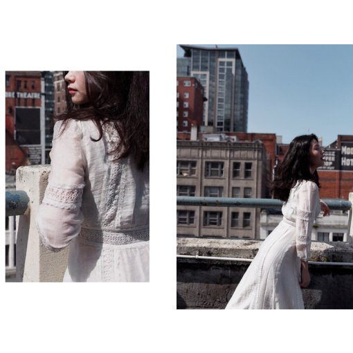 FansLook ☁️ 云朵般轻盈的白裙子