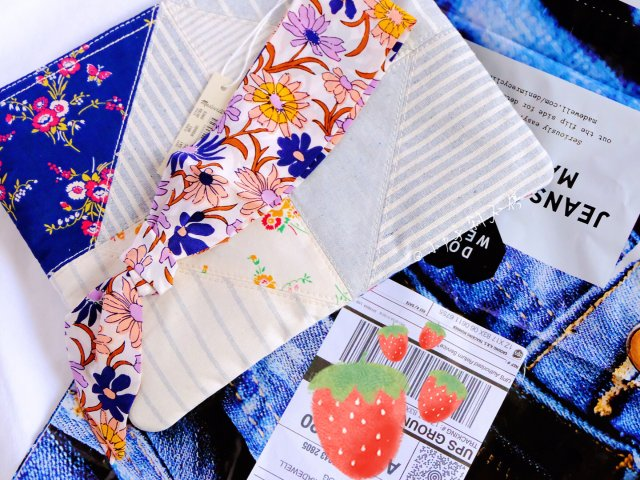 Madewell 丝巾 布包 🆓
