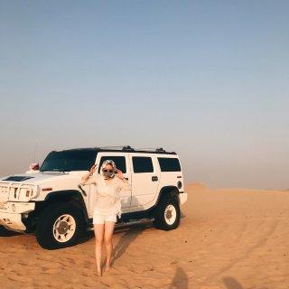 旅行要带它   丝巾与沙漠就是绝配~...