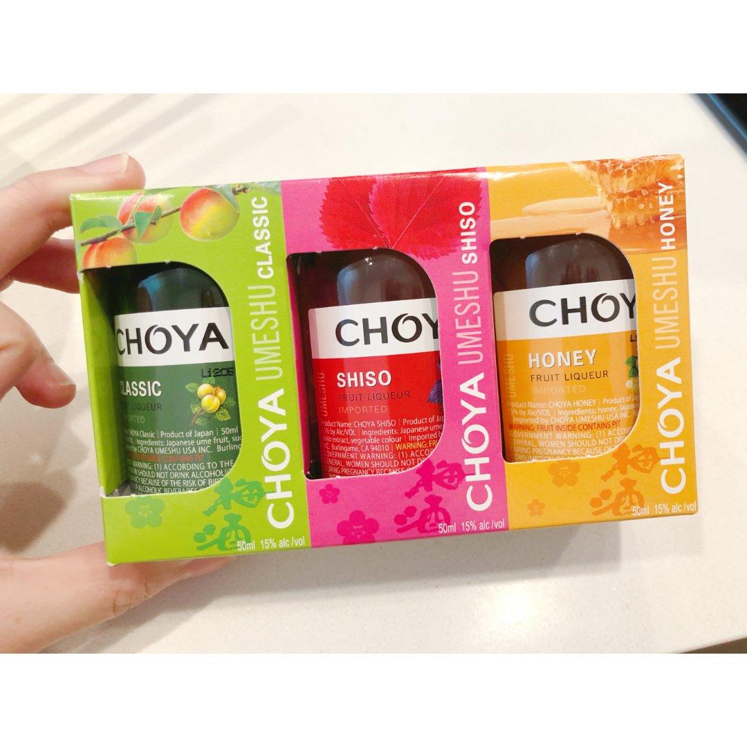 Choya梅子酒mini品尝装