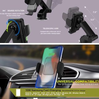 【微众测】ZeeHoo多用途手机支架/车充