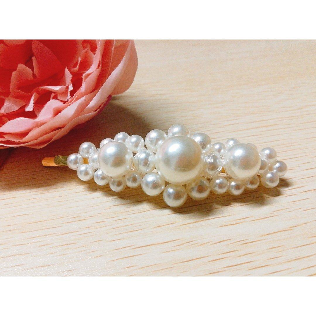 亚马逊好物--好价又好看的珍珠发卡推荐2