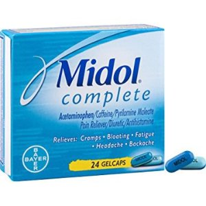 $4.98Midol Complete Gelcaps, 24-Count Box