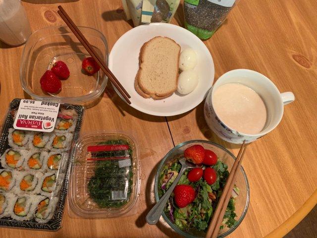 背景墙8: 营养早餐
