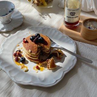 在阳光里懒散的吃个早餐 自制早餐...