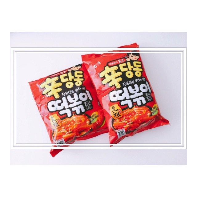 🇰🇷韩国海太的辣年糕条<br />...
