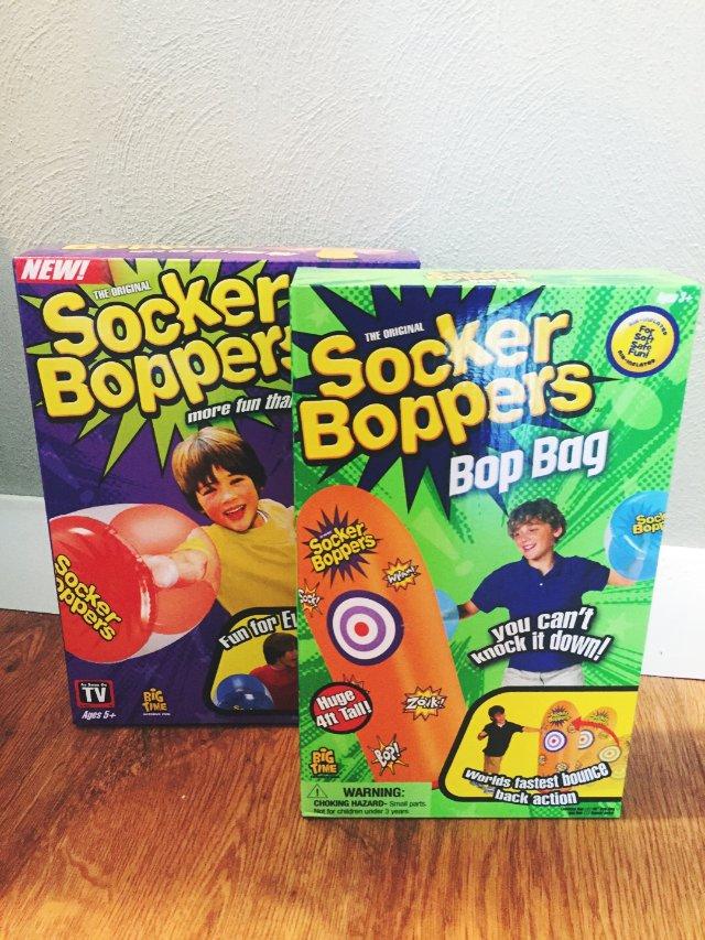 充氣泡泡拳頭與目標玩具組2️⃣4️⃣