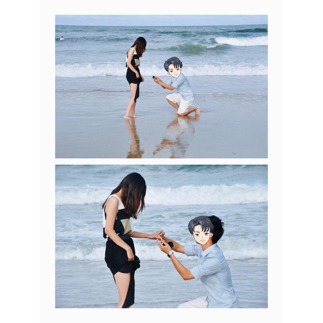 甜甜的愿望|带宝宝去他爹当年求婚的...