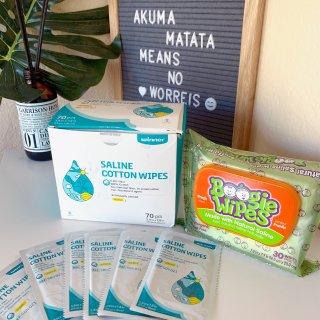 小药箱必备品:生理盐水清洁湿巾