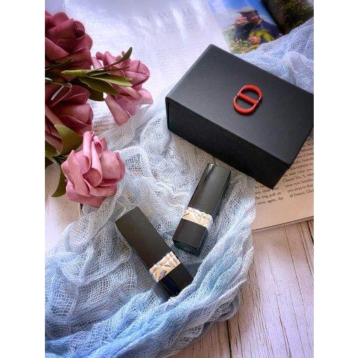 Dior任意单送的双999💄小礼盒