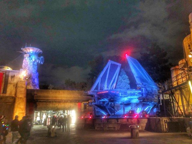 迪斯尼 StarWar新園區
