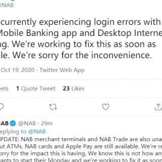 澳洲国民银行NAB突发大规模技术故障 客...