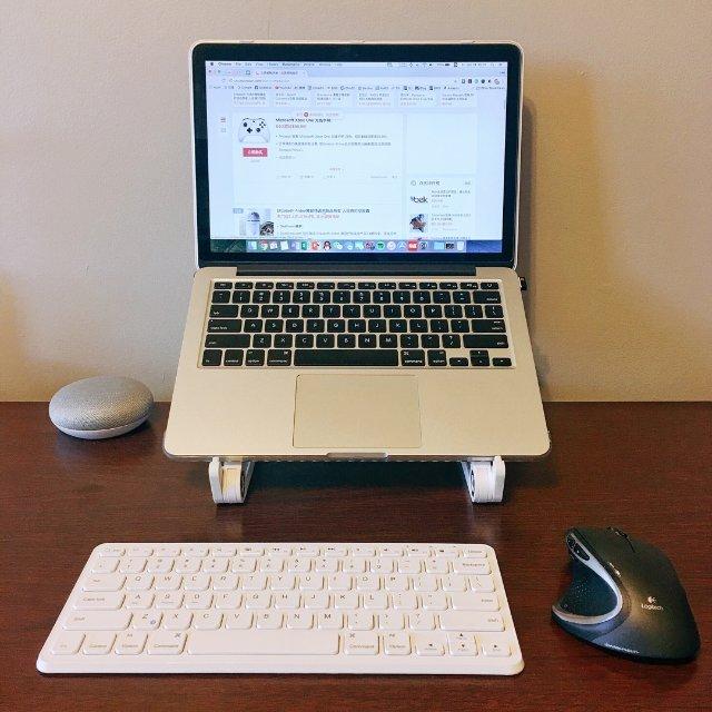 可折叠电脑架,桌面看剧更舒服。加上...