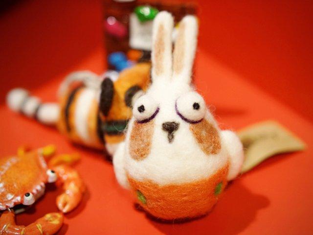 羊毛毡小可爱 | 大小眼🤪老虎🐯和兔子🐰
