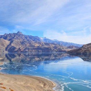 冬天的新疆帕米尔高原,比班夫还美!⛰️...