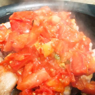 【宝宝爱吃】🍅四个番茄🍅炖排骨 ...