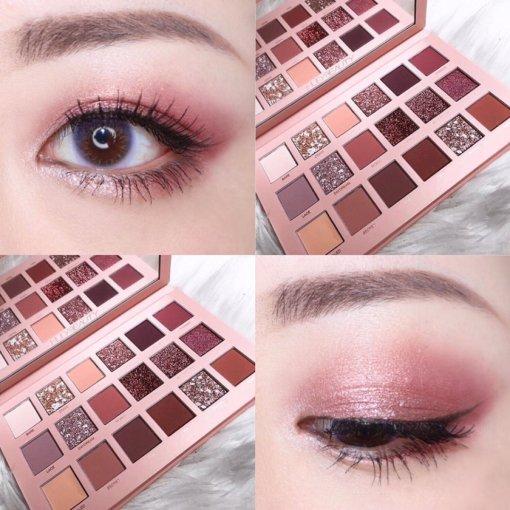 神仙配色🌟Huda beauty沙漠玫瑰眼影盘