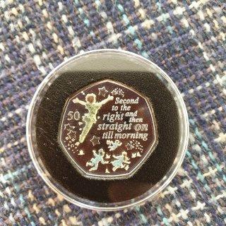 90周年纪念Royal Mint 彼得潘...