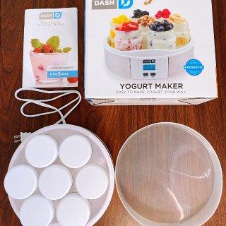 越吃越瘦减脂好帮手,Dash一键快捷酸奶机