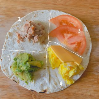 Brunch|墨西哥捲餅新包法...