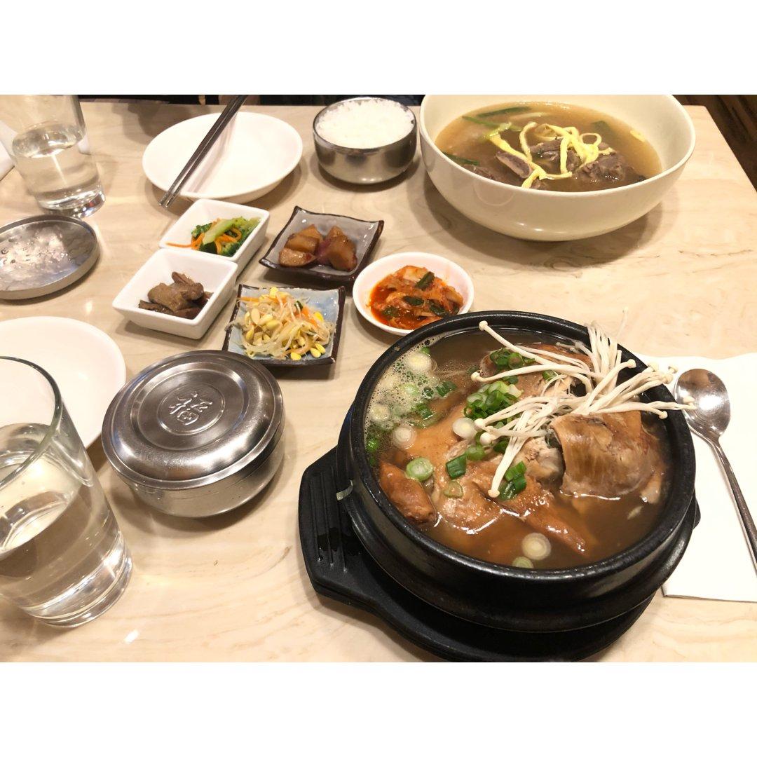 冬日养膘 🇰🇷参鸡汤