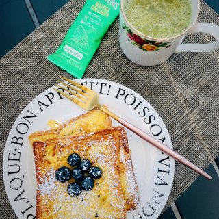 元气早餐 | 法式吐司&抹茶咖啡...
