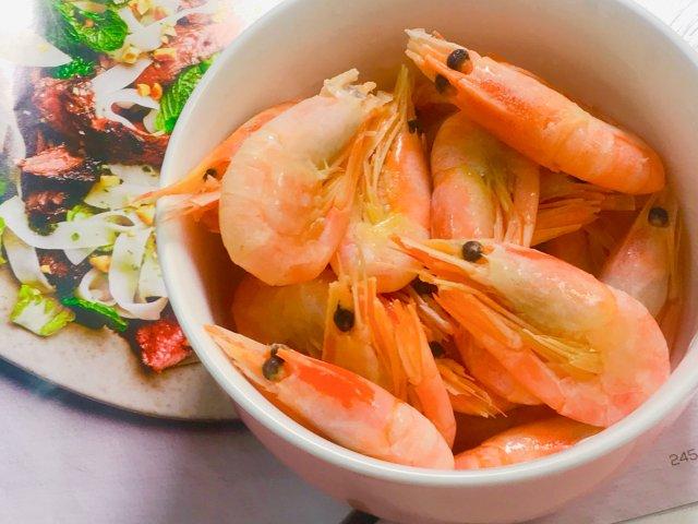 硬核下午茶 / 北极甜虾🤣🤣🤣