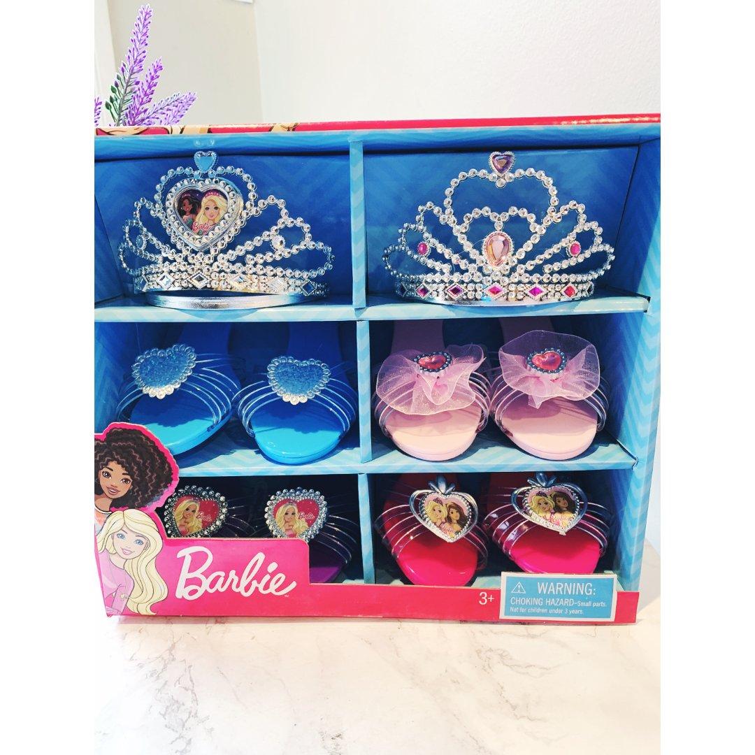 #4 芭比小公主👸鞋子鞋盒套装