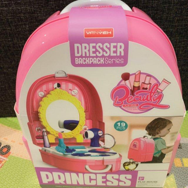 8 小女孩化妆造型书包