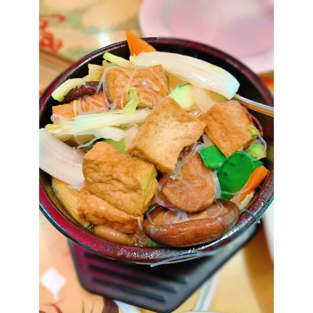 中午吃什么|豆腐粉丝煲