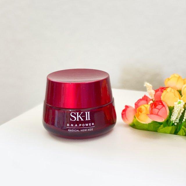 空瓶:混合油皮好爱的SK-II大红瓶面霜