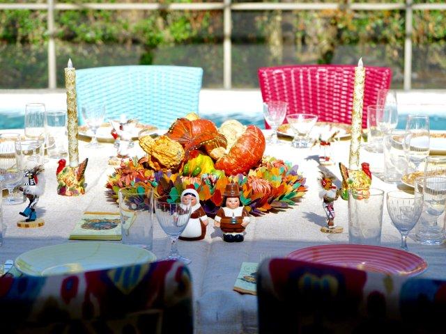 感恩节大餐分享——table se...