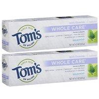 Tom's of Maine 全效型含氟牙膏 2支装