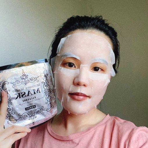 微众测 魔镜魔镜,什么会让我变白?日本美白抗敏魔镜面膜🤫!