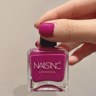 粉紫色系指甲油推荐💅英国NAISINC玫...