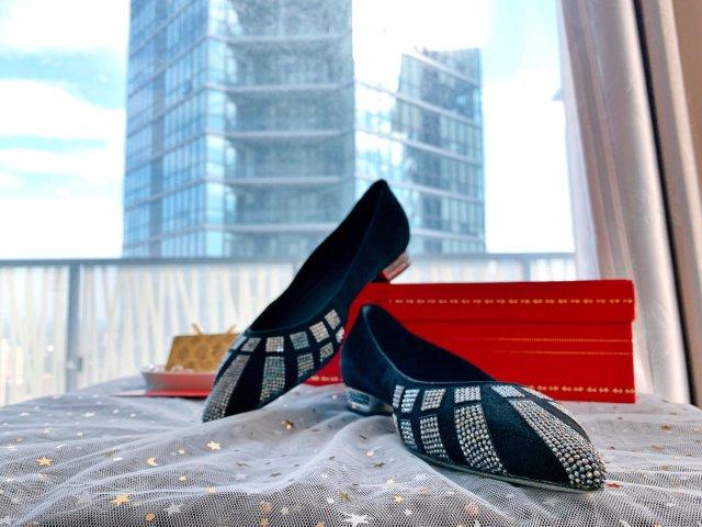 rene caovilla 平底鞋