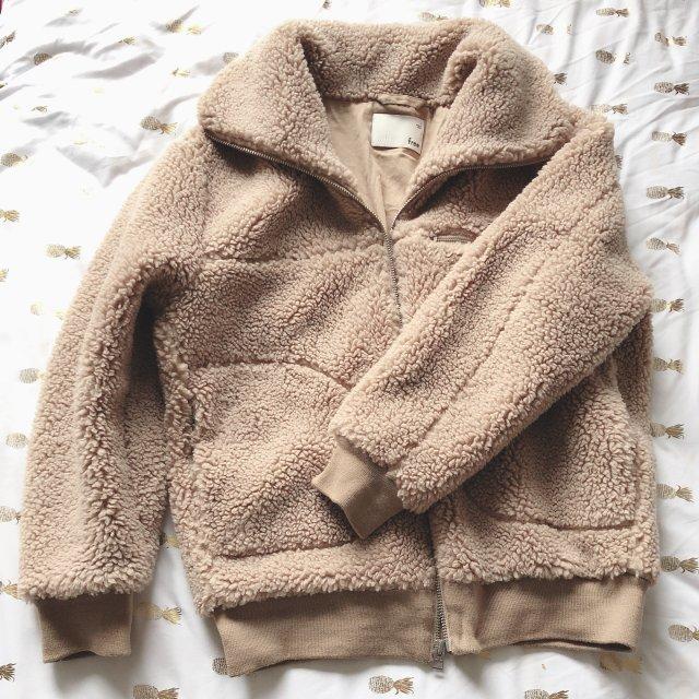 冬天就是要穿得像🐻一样