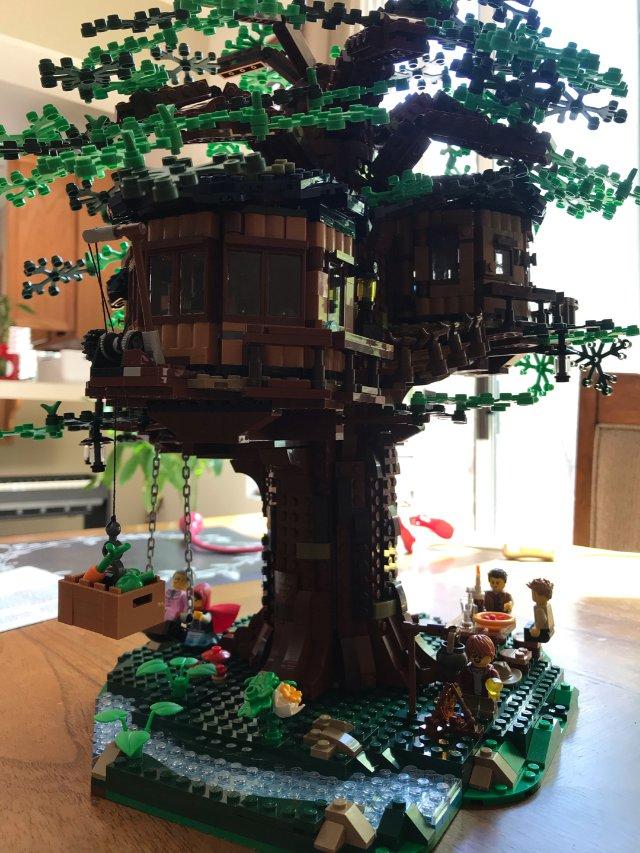 乐高lego树屋!