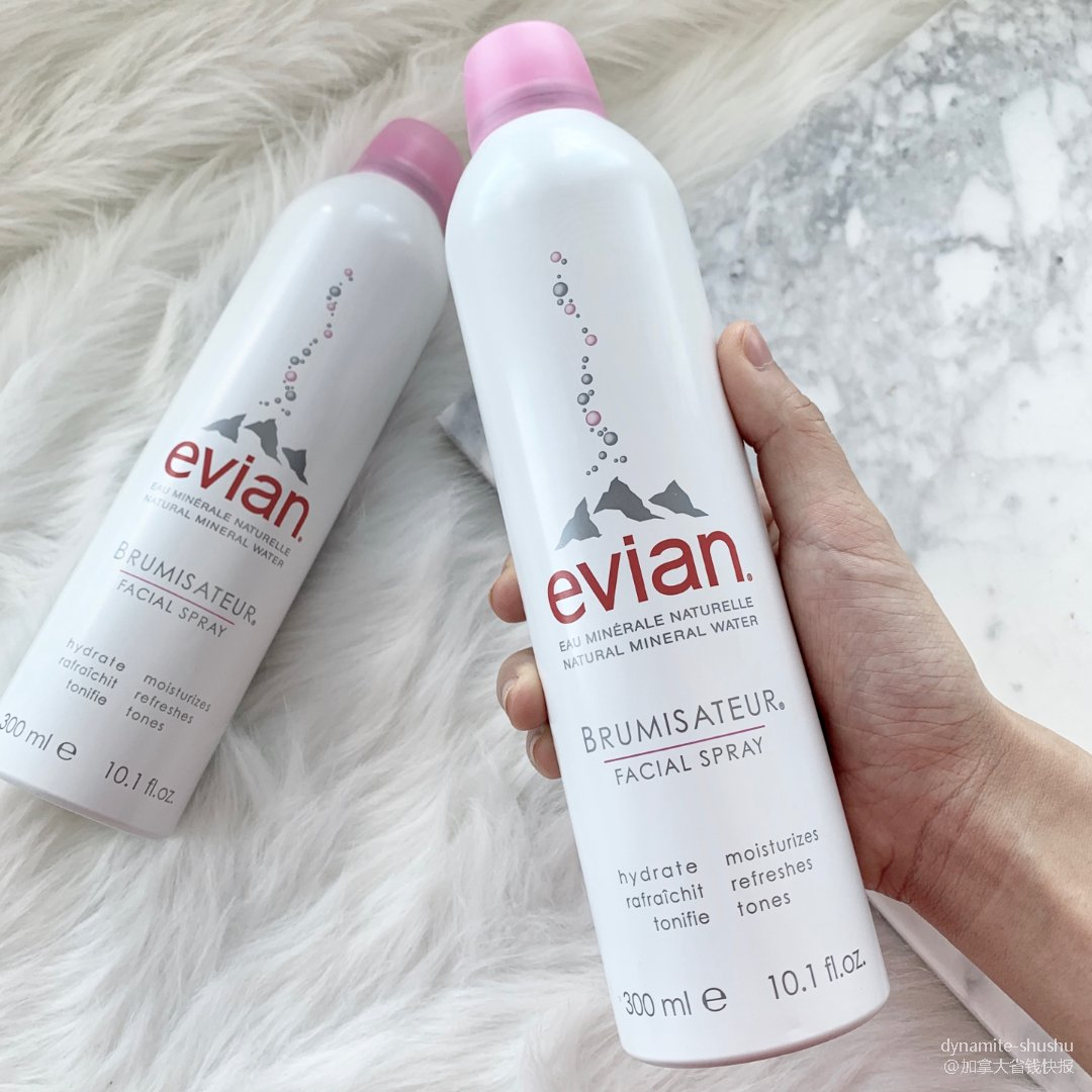 Evian喷雾 | 办公室补水必备...