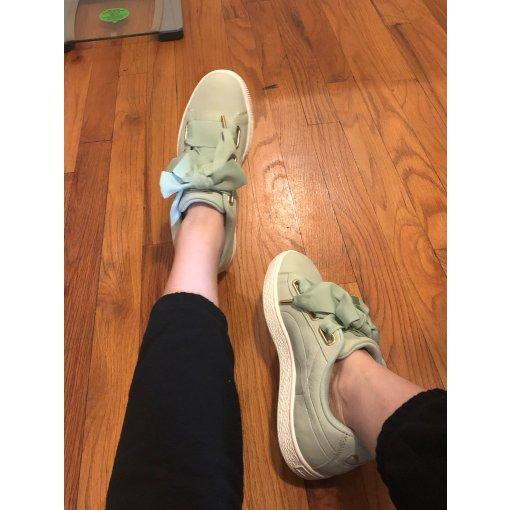 PUMA丝带鞋 Basket Heart系列