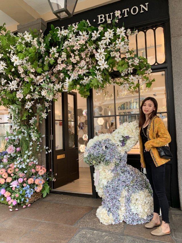 伦敦花展|covert garden