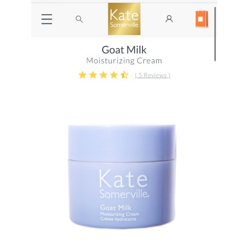🧐倒底Kate Somerville羊奶面霜好用不好用?