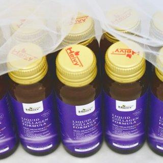 口服美容时代的抗衰老作战||Heivy紫瓶胶原蛋白口服液测评