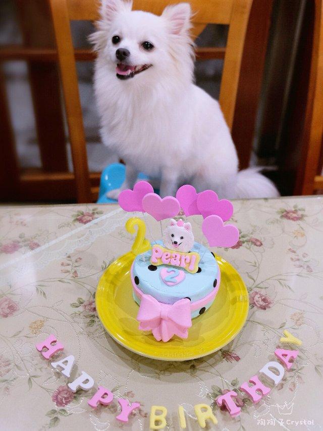 Pearl 2岁生日快乐🎂🎈🎉