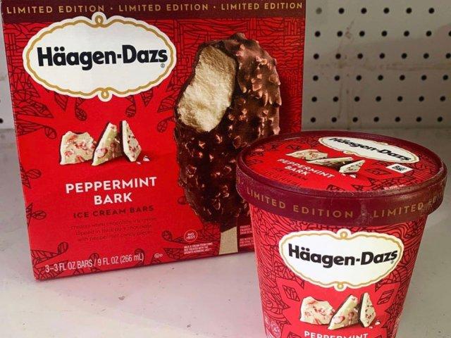 甜点Haagon Dazs😋