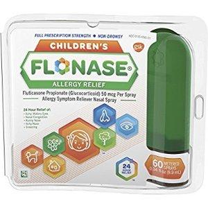 Amazon.com: Flonase Children's Allergy Relief Nasal Spray, 60 Count: Health & Personal Care
