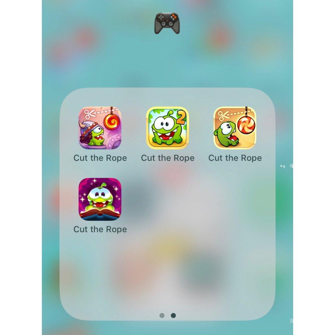 推荐一个超萌的益智游戏:cut t...