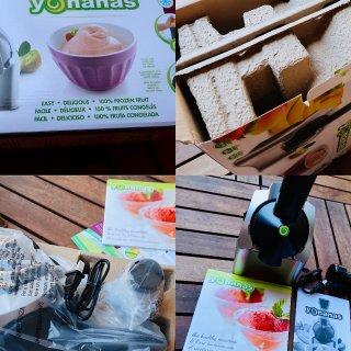 Yonanas水果冰淇淋机 在家就能做出美味无负担冰激凌