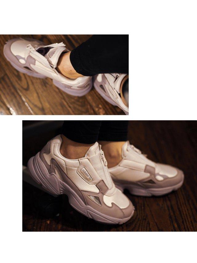 八字不合的阿迪小鞋鞋