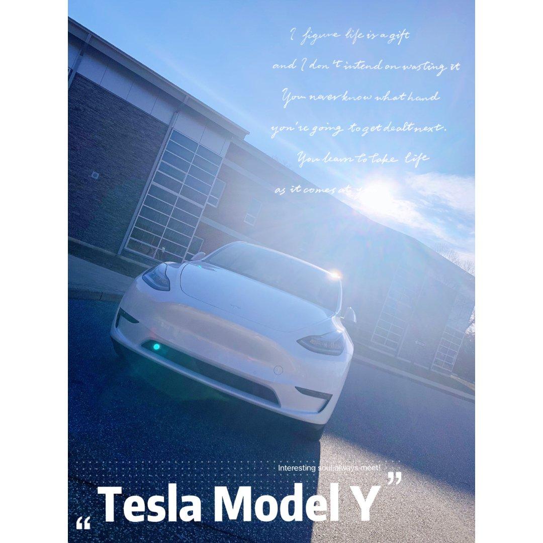 2021.我们家的新成员Model Y